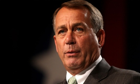 House Speaker John Boehner says the lawsuit is not about impeachment.