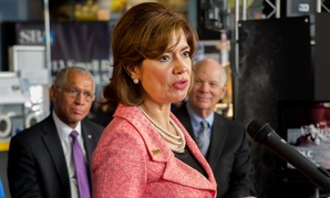 """When we hit our small business procurement target, it's a win,"" said SBA Administrator Maria Contreras-Sweet Friday."