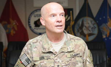Major General Kenneth Dahl will question Bergdahl.