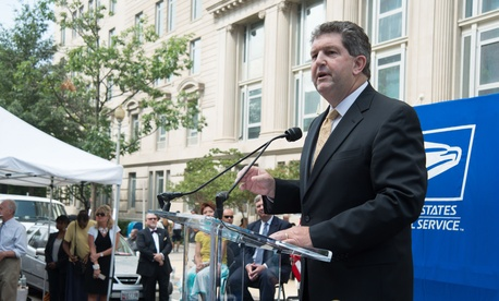 Postmaster General Patrick Donahoe is urging Congress to give USPS more flexibility.