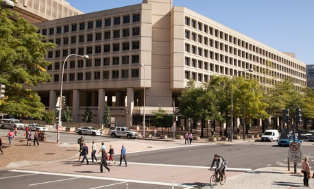 The J. Edgar Hoover FBI Building in Washington.