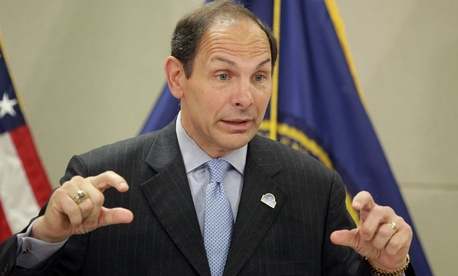Veterans Affairs Secretary Bob McDonald wants to flatten VA's hierarchy.
