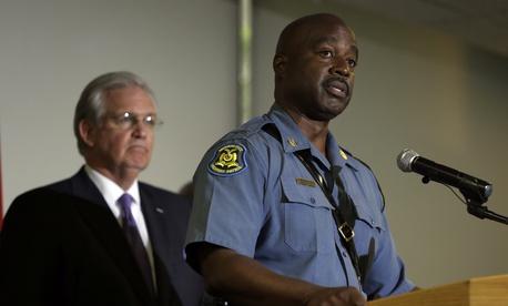 Capt. Ron Johnson of the Missouri Highway Patrol