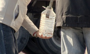 During the Elk River spill in West Virginia, water was trucked into the Charleston area.