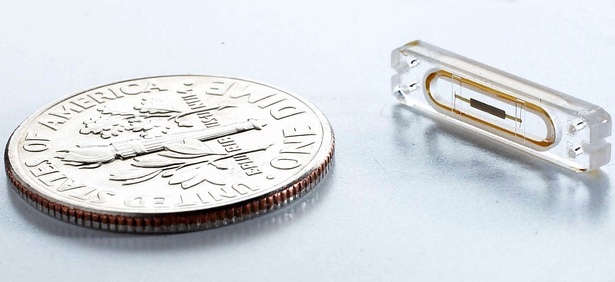 The IoT will make sensors like this one, designed to monitor for heart failure, the norm