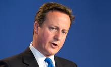 U.K. Prime Minister David Cameron announced the move Friday.