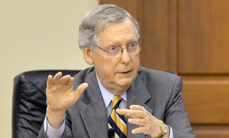 "Sen. Mitch McConnell, R-Ky., said shutdowns are a ""failed policy."""