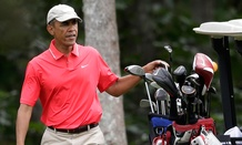 Obama spent art of August vacationing on Martha's Vineyard.