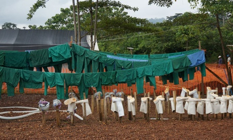 Aid workers continue to fight the spreading Ebola virus in eastern Sierra Leone.