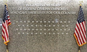 In April 2013, the Office of Personnel Management unveiled a memorial to civilian federal employees killed in the line of duty.