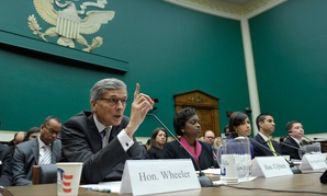 FCC Chairman Tom Wheeler, on December 12, 2014, testifies before the House Energy and Commerce Committee.