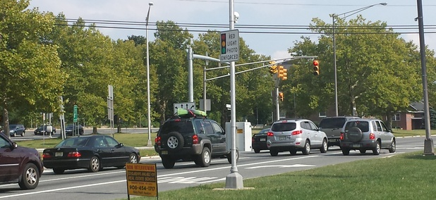The most dreaded intersection in all of northwest New Jersey.