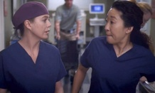 Ellen Pompeo and Sandra Oh star in Grey's Anatomy.