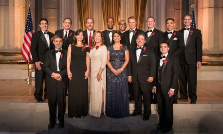 The 2014 Service to America Medal winners were honored at a black-tie event in Washington.