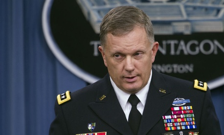 Army Lt. Gen. William Mayville Jr. speaks about operations in Syria.