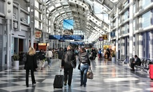 O'Hare was one of the airports affected.