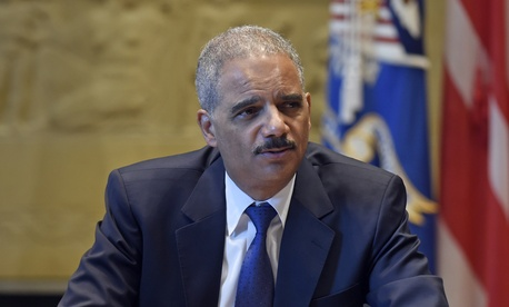 Outgoing U.S. Attorney General Eric Holder
