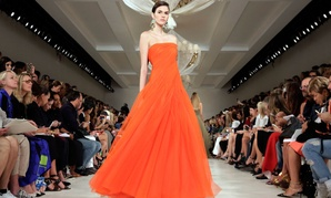 The Ralph Lauren Spring 2015 collection is modeled during New York Fashion Week, Sept. 11, 2014.