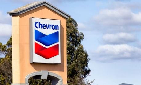 According to federal procurement data released by the Small Business Administration, Chevron received small business contracts in 2013.