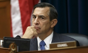 Issa listens as then-Secret Service director Julia Pierson answers questions Sept. 30 about the  White House security breach.