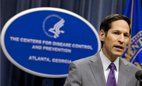 CDC Director Thomas Frieden addresses the public after confirming the Ebola case in Texas.