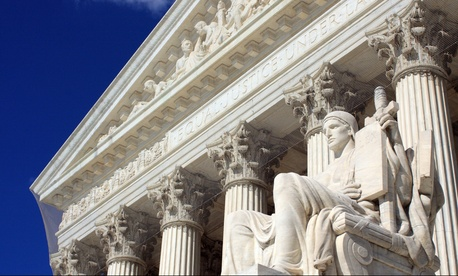 The U.S. Supreme Court blocked Wisconsin's restrictive voter ID law on Thursday night.