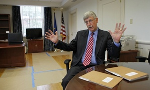 Dr. Francis Collins, director of the National Institutes of Health, believes the agency would have had an Ebola vaccine by now if its research budget had not been cut.