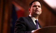 Sen. Marco Rubio suggested temporarily banning the U.S. from issuing new visas to citizens of Liberia, Guinea and Sierra Leone.