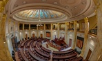 The Arkansas House of Representatives chamber.