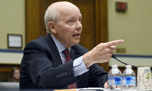 Internal Revenue Commissioner John Koskinen testifies on Capitol Hill in July.