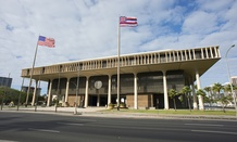 Hawaii's State Capitol in Honolulu.