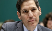 CDC Director Tom Frieden testifies on Capitol Hill on efforts to fight Ebola.
