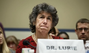 Dr. Nicole Lurie, assistant secretary for preparedness and response at HHS, testifies at Friday's hearing.