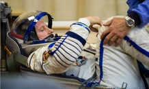 Expedition 41 Flight Engineer Barry Wilmore of NASA prepares for his launch onboard the Soyuz TMA-14M spacecraft in September. NASA consistently ranks well on employee surveys.