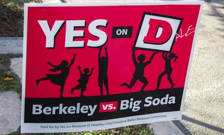 Berkeley's Measure D passed with 75 percent of the vote on Tuesday.