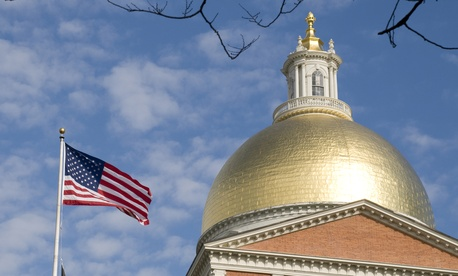 A Republican governor is coming into power at the Massachusetts State House.