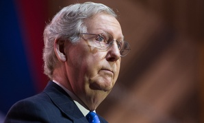"""We will not be shutting the government down or threatening to default on the national debt,"" McConnell said."