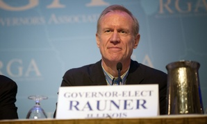 Illinois Gov.-elect Bruce Rauner at a Republican Governors Association meeting.