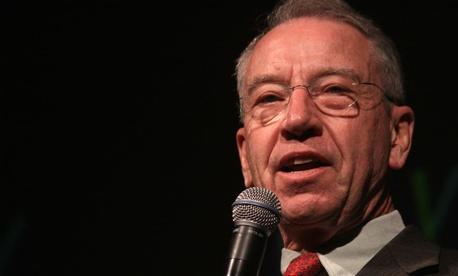 Sen. Charles Grassley, R-Iowa, is preparing legislation to change administrative leave policies.