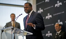 "Atlanta Mayor Kasim Reed, seen here in April, said that it is ""essential that all local, state, and federal law enforcement officials show proper restraint and respect every citizen's constitutional right to assemble."""