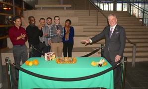 Seattle Mayor Ed Murray recently pardoned a tofu turkey in the atrium of Seattle City Hall.