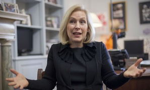 Sen. Kirsten Gillibrand, D-N.Y., is leading efforts to limit military commanders' authority over sexual assault cases.