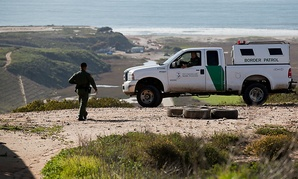 Border Patrol agents near San Diego.
