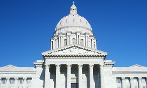 The Missouri State Capitol in Jefferson City.