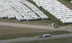 FEMA trailers used to house victims of past disasters.