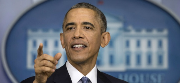 President Obama spoke to reporters at the White House Dec. 19, before heading to Hawaii for Christmas.