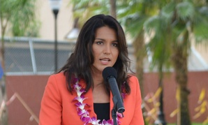 """There are many people who already receive insurance because of their service to our country,"" says Rep. Tulsi Gabbard, D-Hawaii."