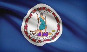Commonwealth of Virginia flag.