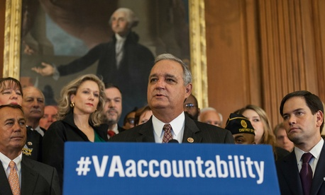 House Veterans' Affairs Committee Chairman Jeff Miller, R-Fla., has worked to give the VA secretary more authority to fire and discipline executives.
