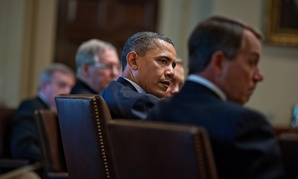 Obama meets with Congressional leaders regularly.